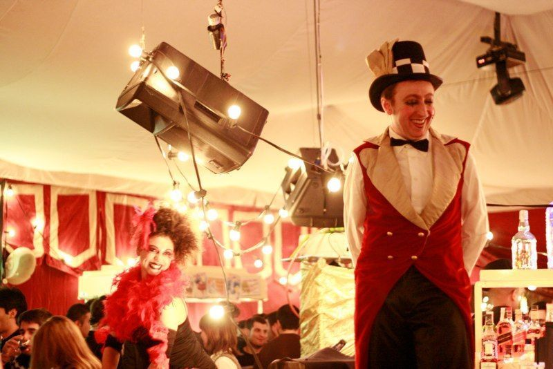Circus entertainment for events