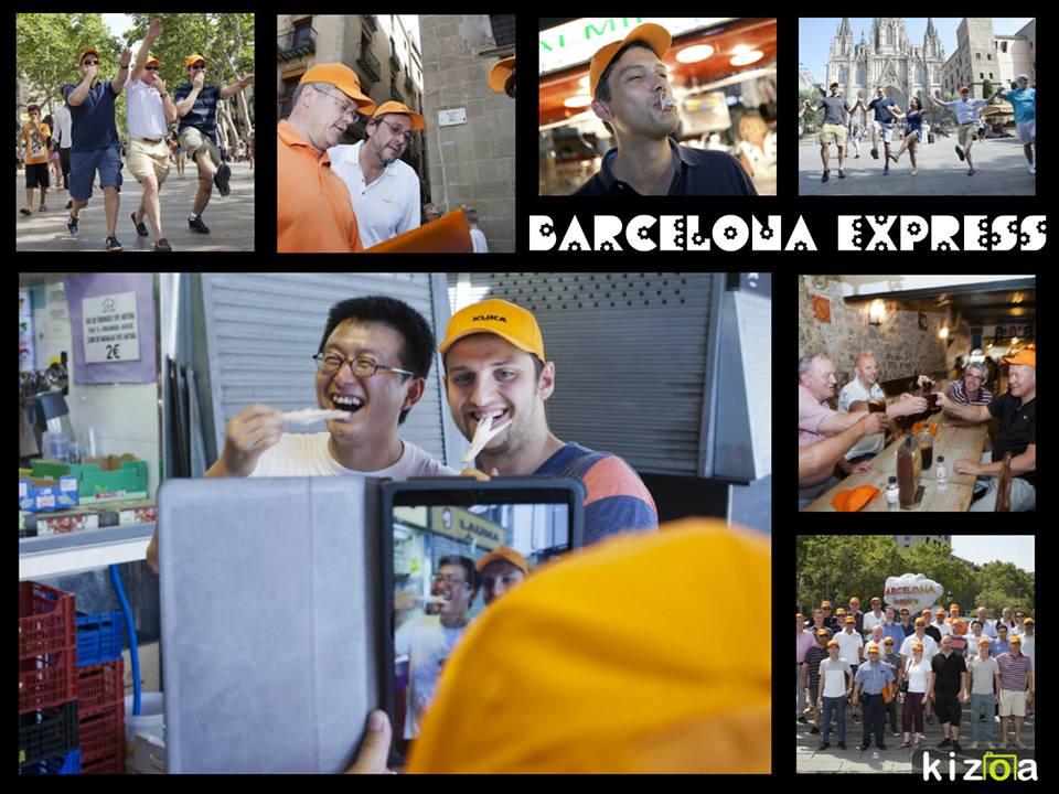 TEAM BUILDING: City Express urban rally