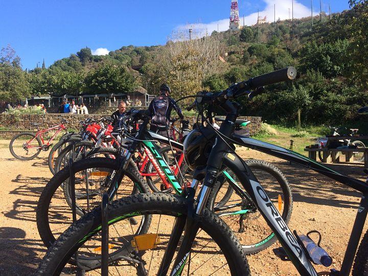 HFC Team building incentives mountain biking
