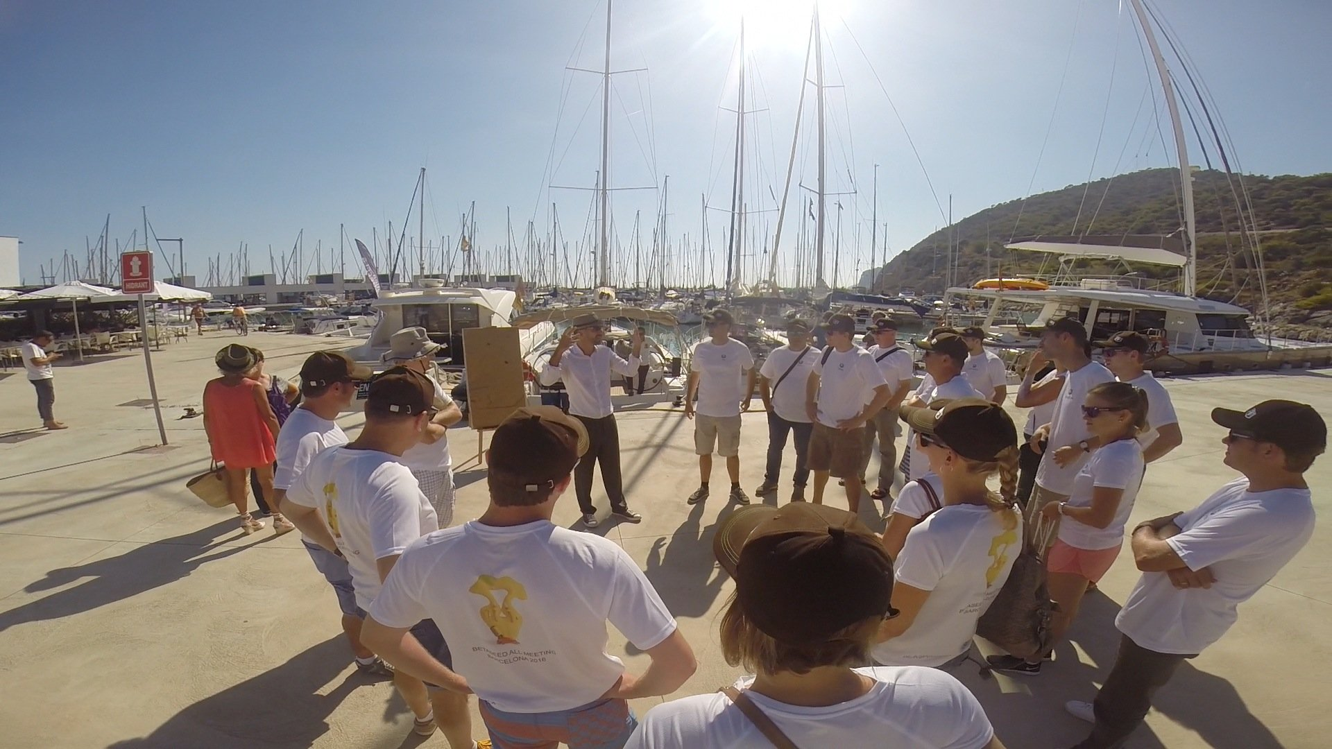 regata barcelona team work