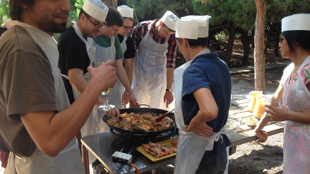 team building cooking
