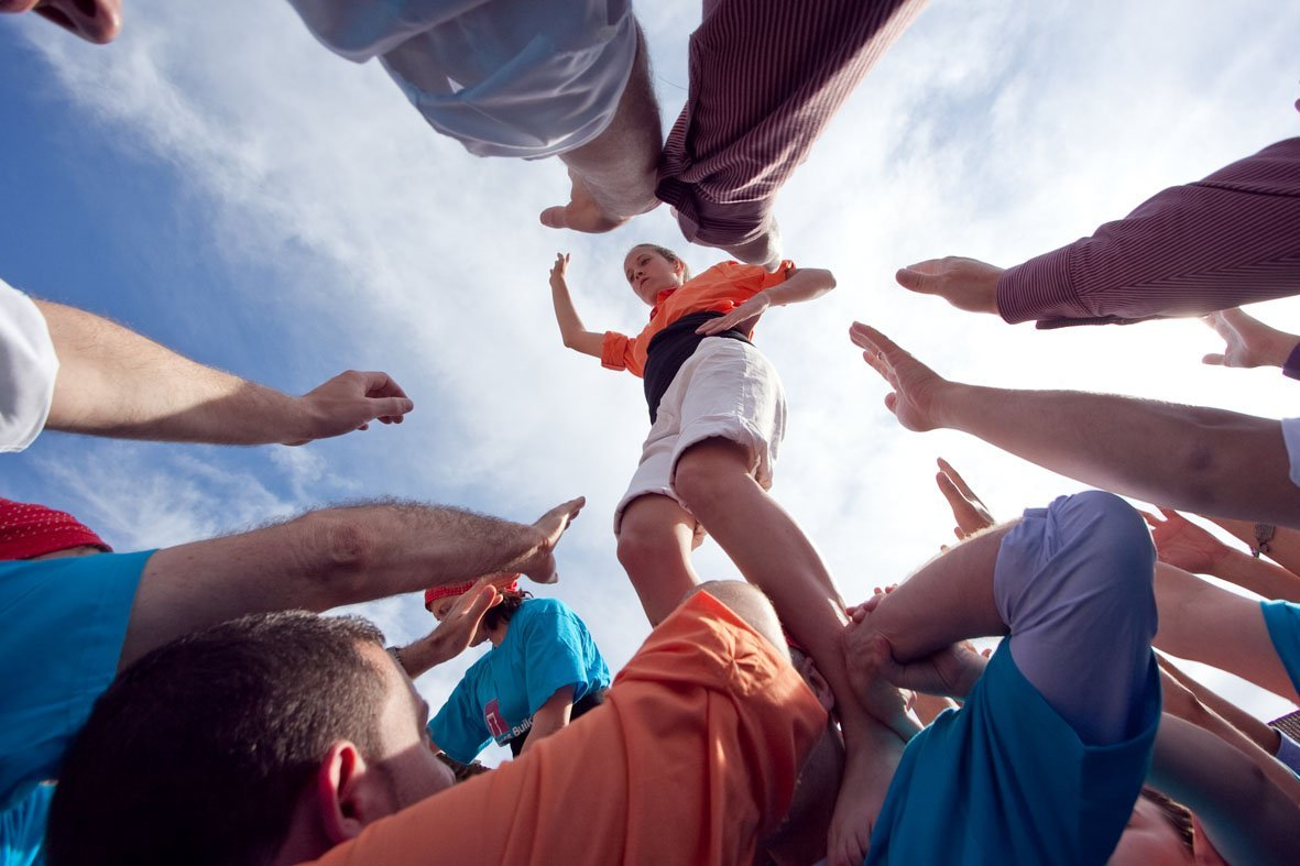 HFC Castellers Teambuilding Human Towers Activity Barcelona (14)