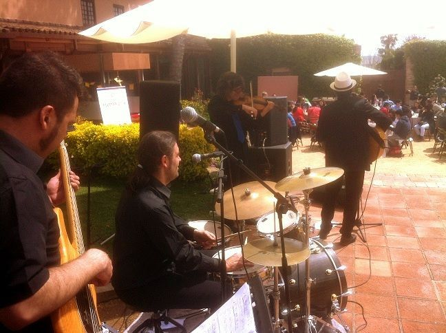 Live music corporate event