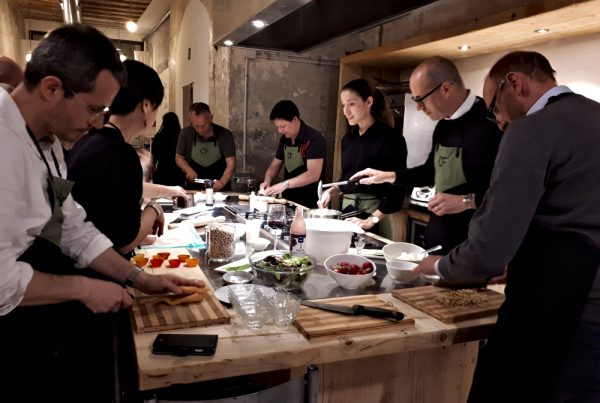 Team building Barcelona Tapas cooking
