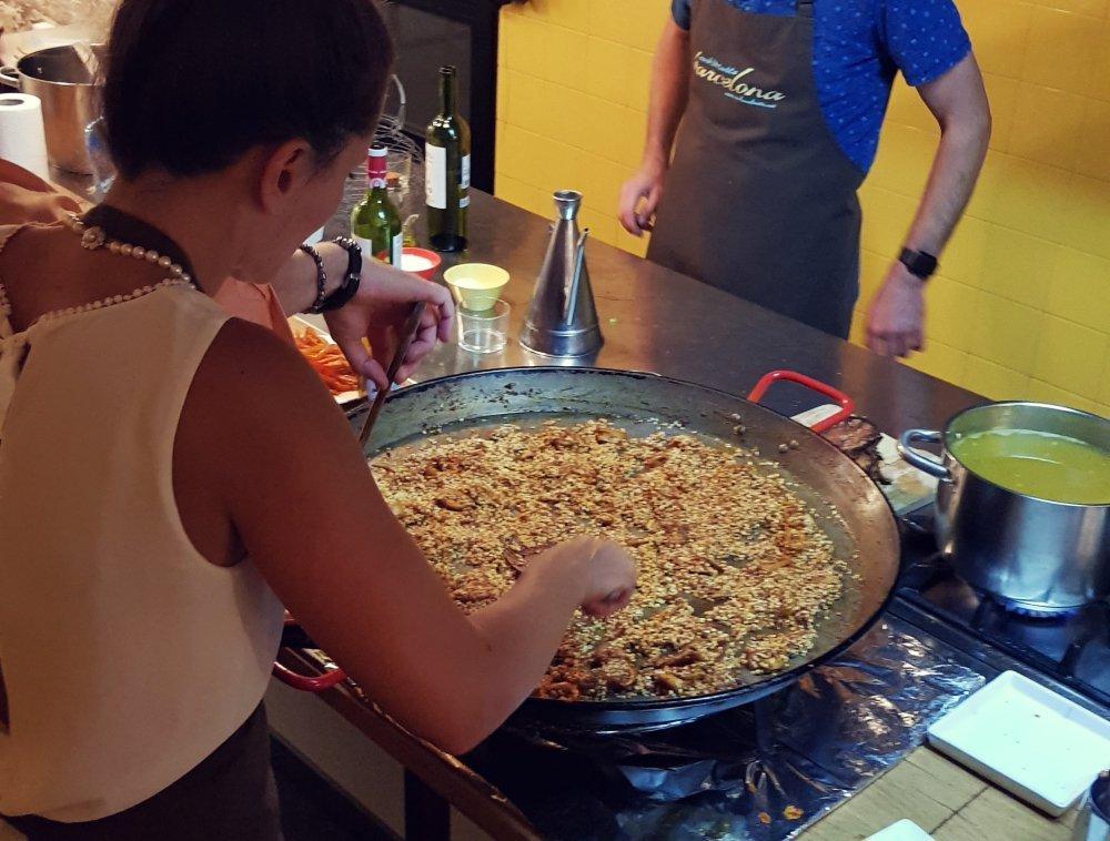Team building cooking Barcelona