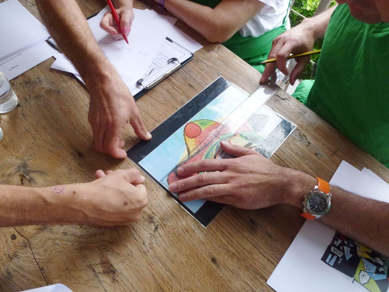 art activity team building
