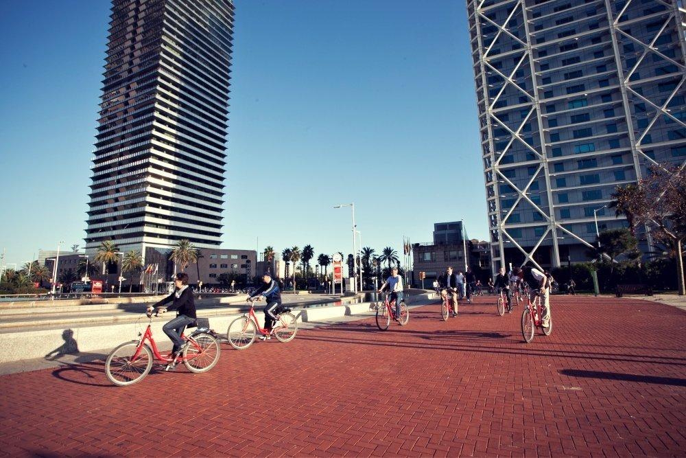 Gastronomic Biking routes barcelona