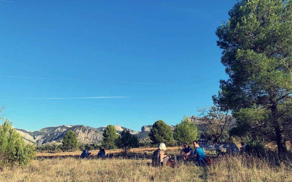 outdoor meetings in natural parks
