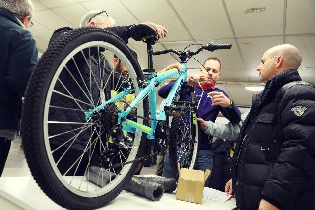 Bike social team building