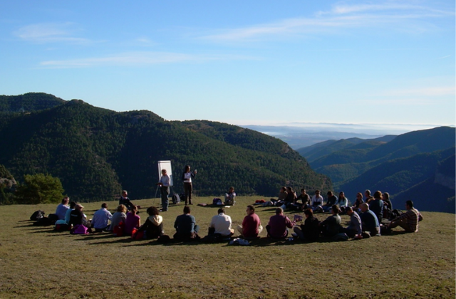 outdoor meeting natural park