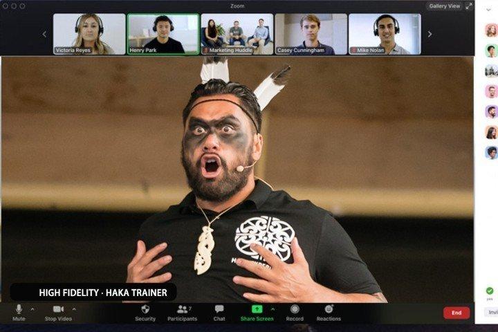 online haka experience