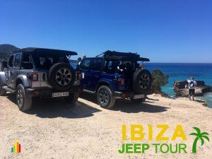 Jeep excursions team building Ibiza