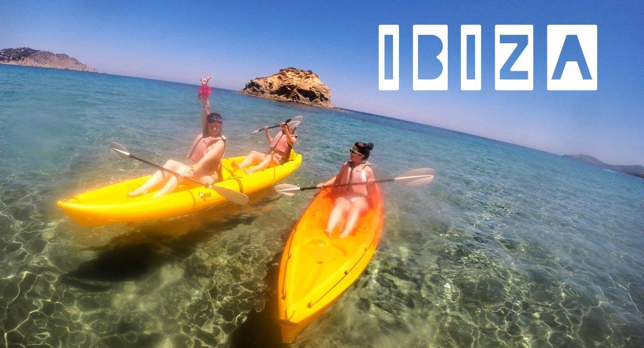Sea Kayak team building Ibiza