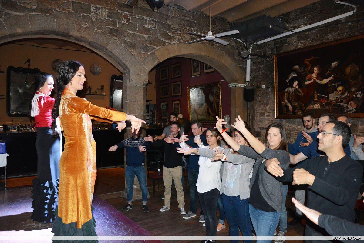 Flamenco team building workshop