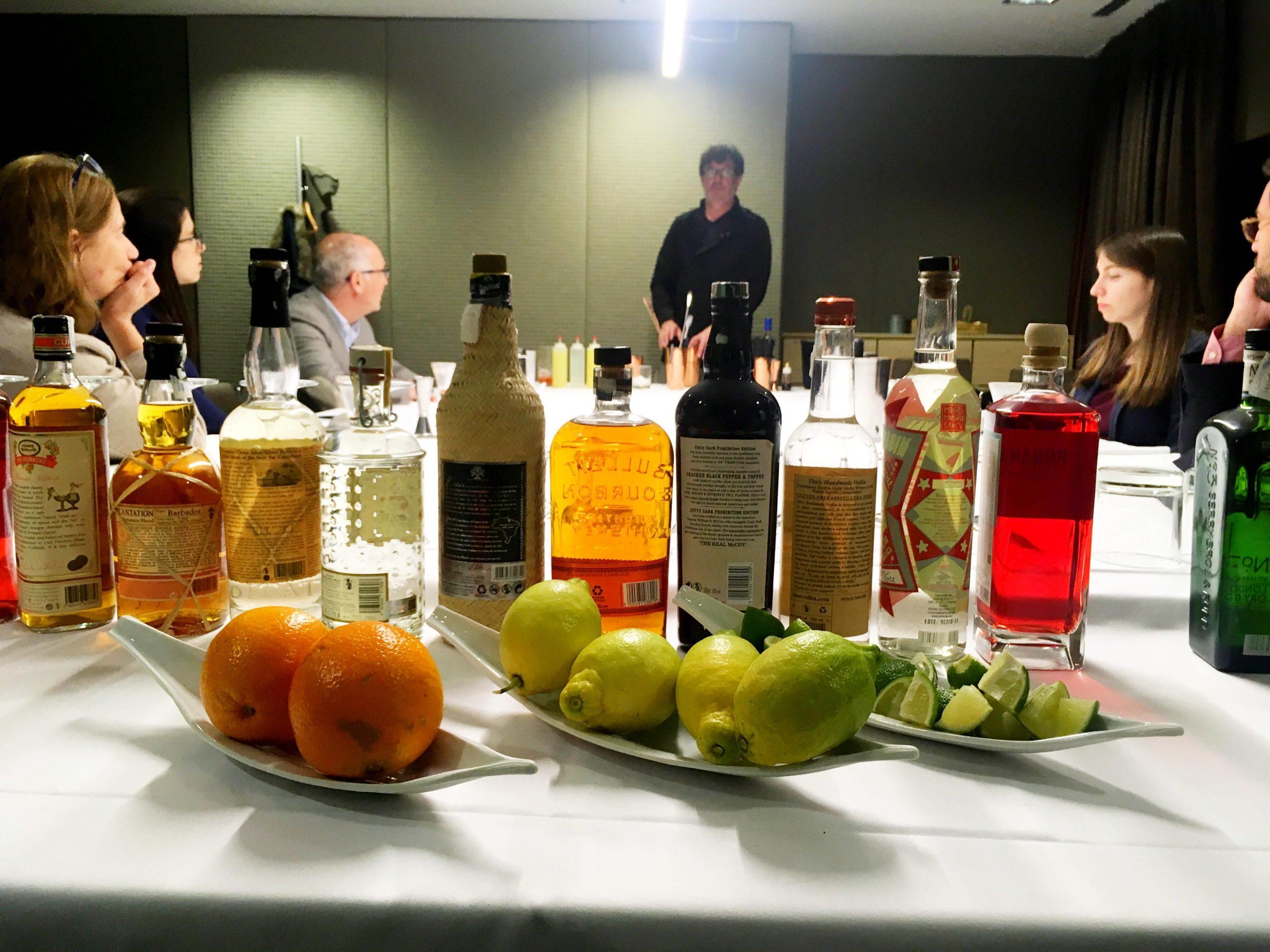 team building cocktail