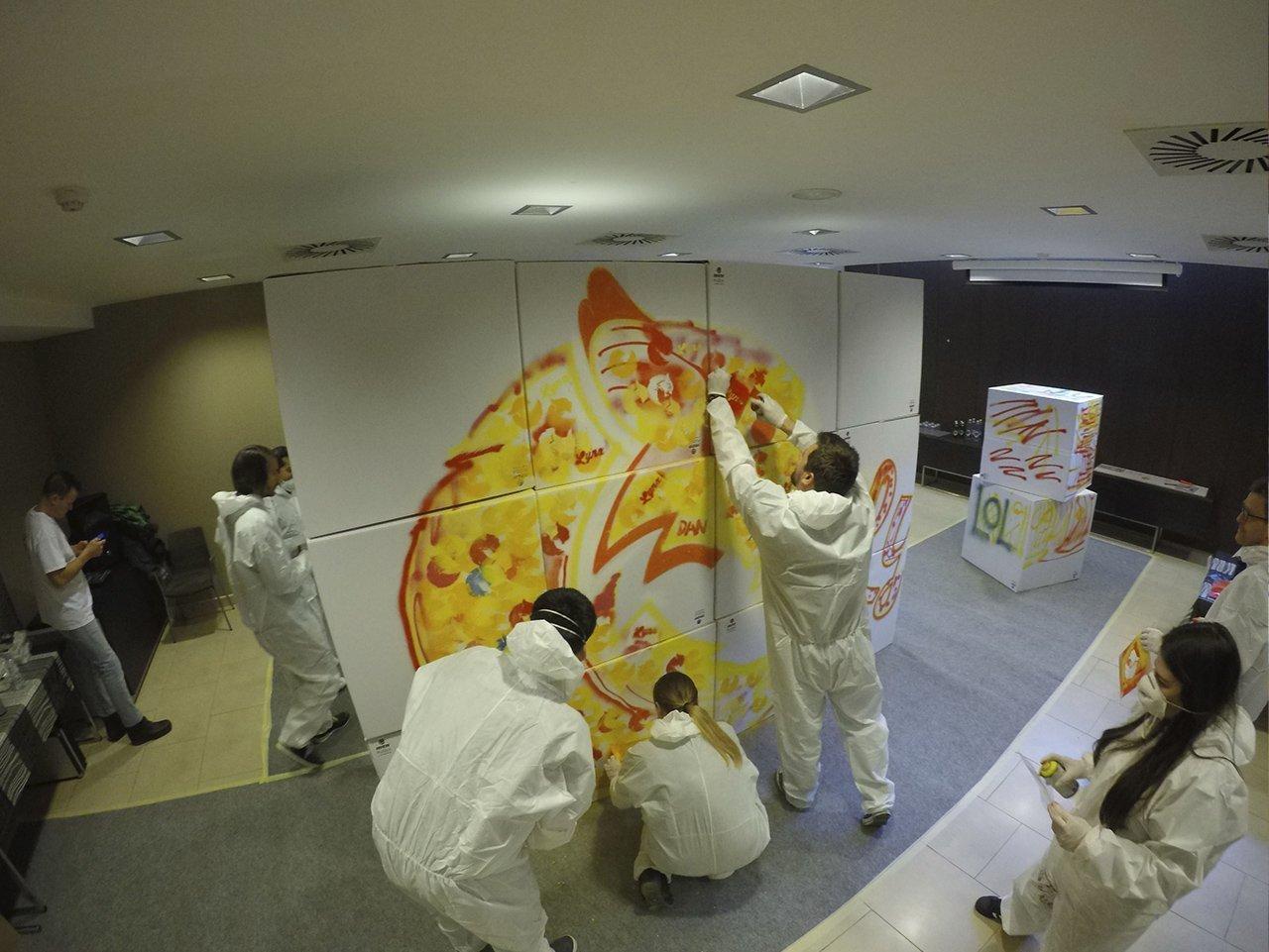 TEAM BUILDING GRAFFITI BARCELONA
