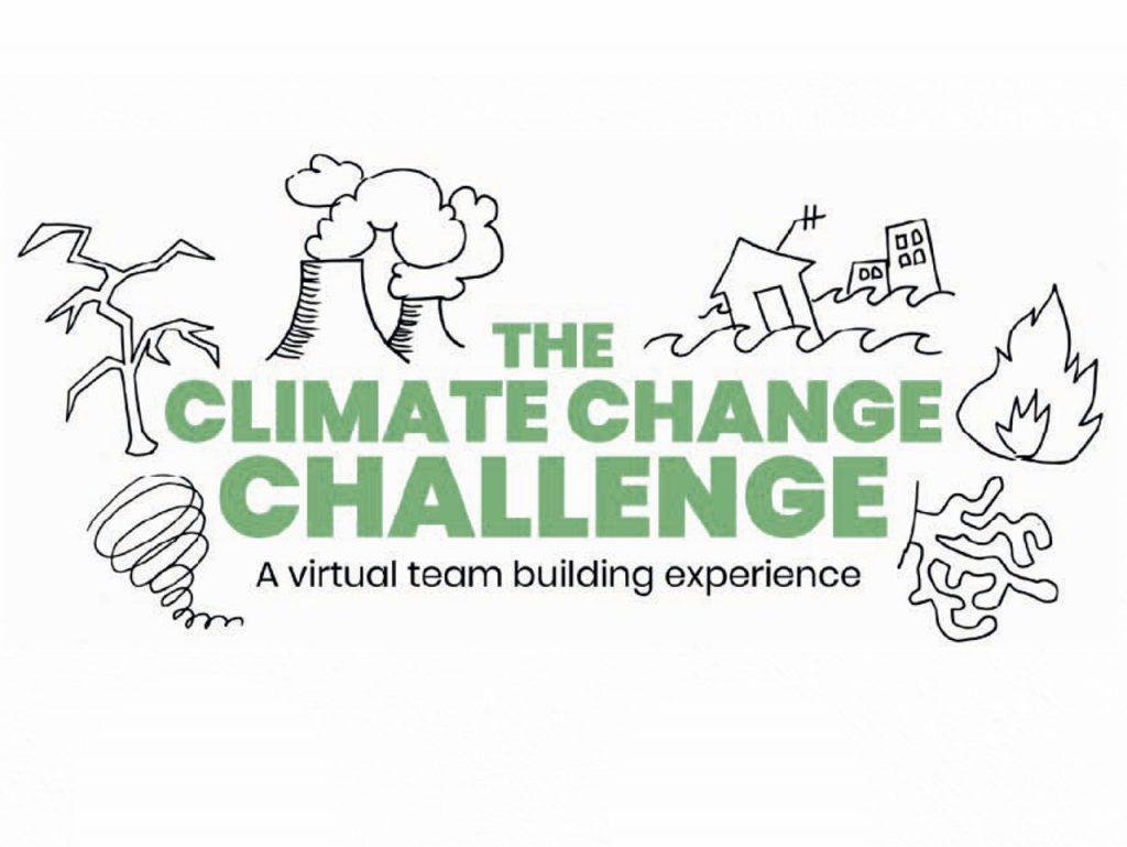 Virtual challenge team building climate change