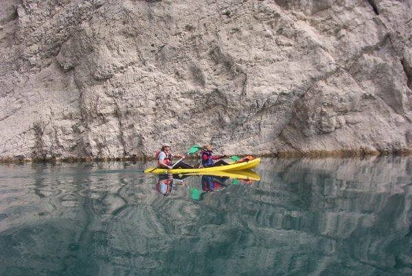 Outdoor conference experiences Sea kayak