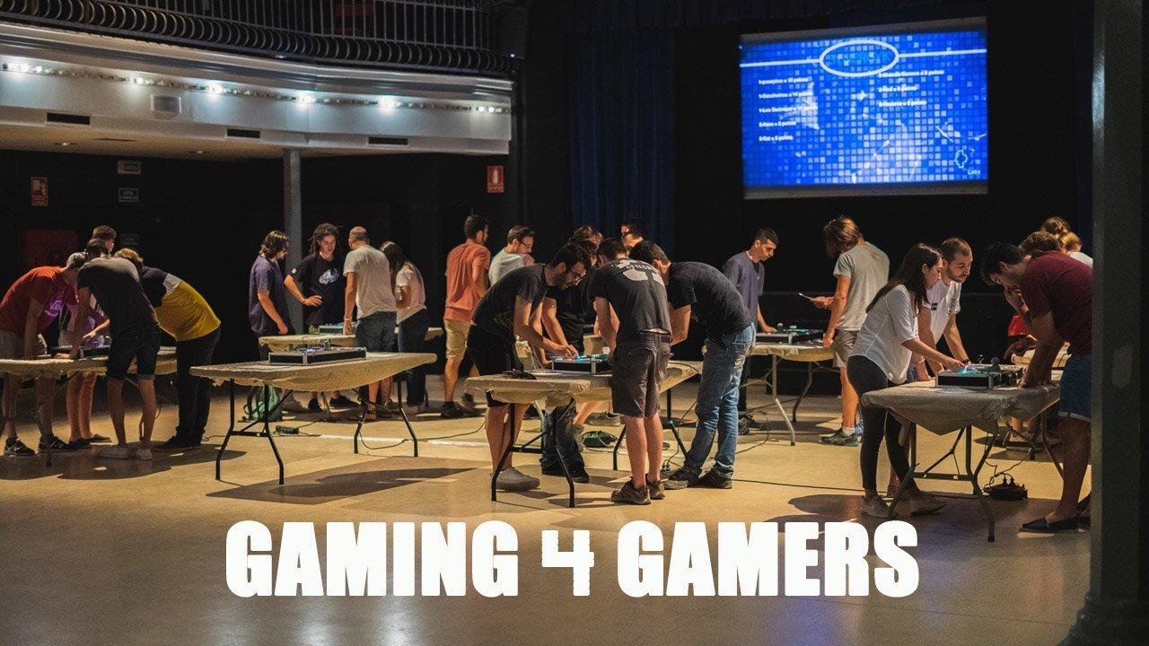 team building activity barcelona gaming