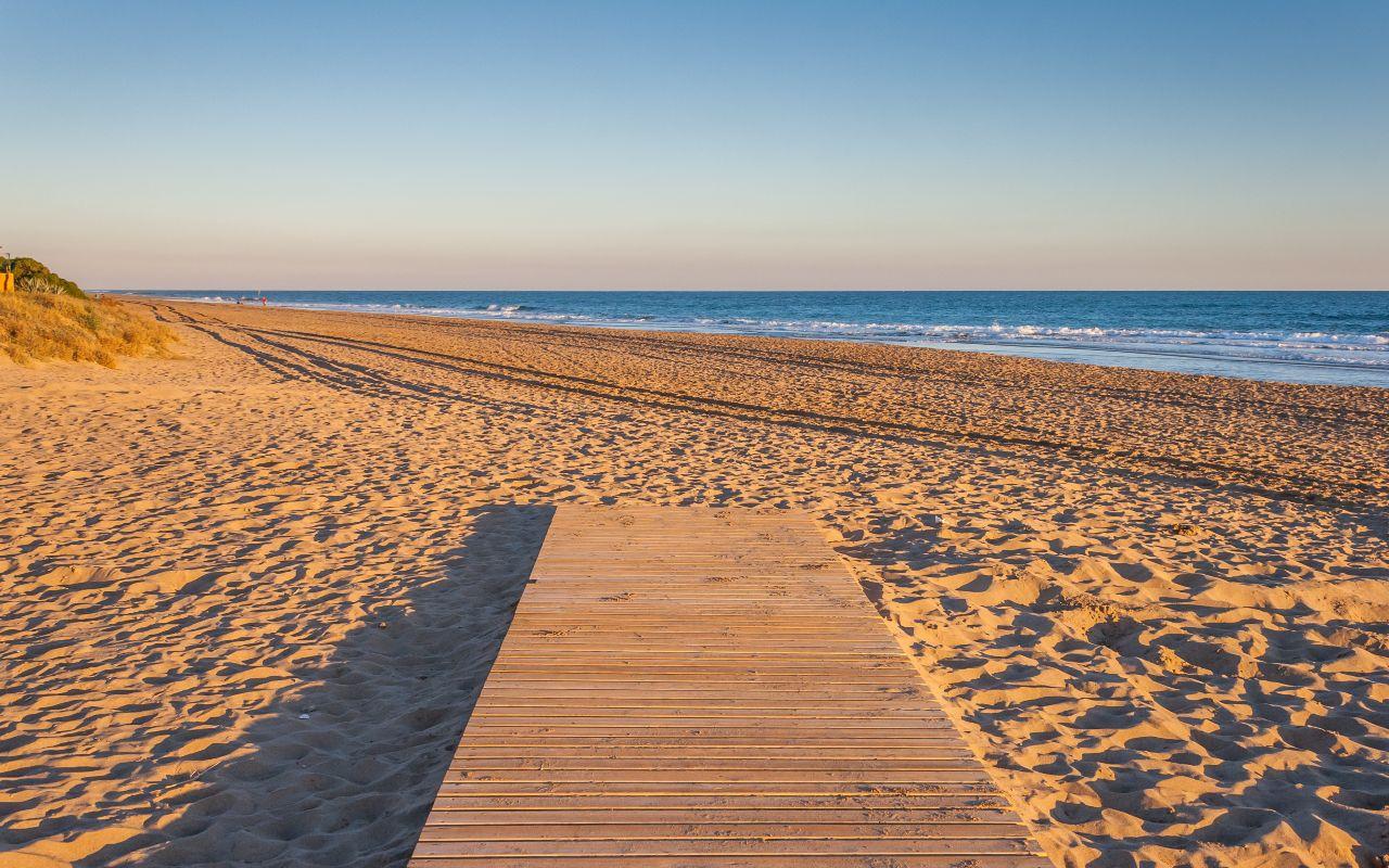 outdoor meeting Gava mar beach