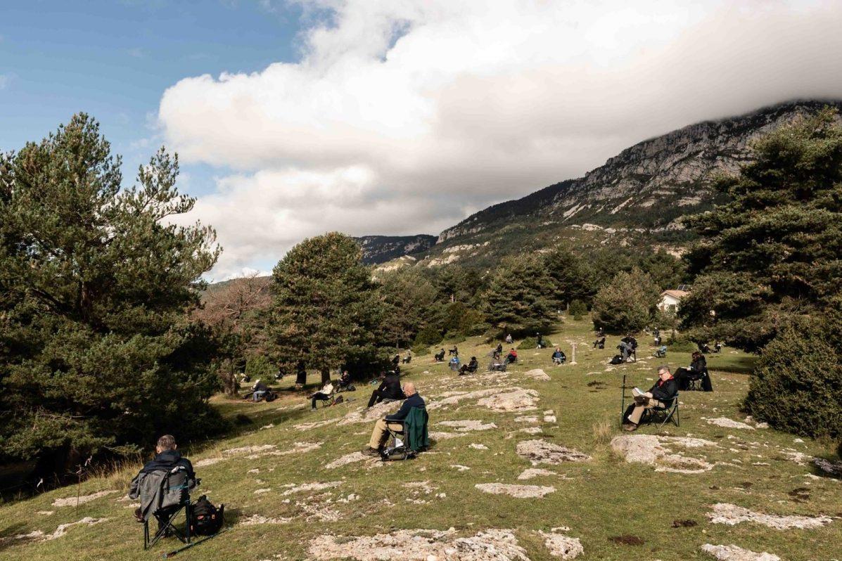 outdoor conference meeting terres de l'ebre