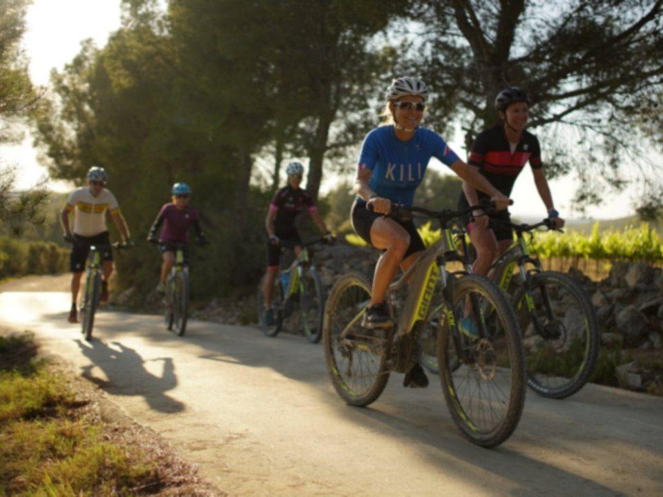 HFC mountain biking team building natural parks