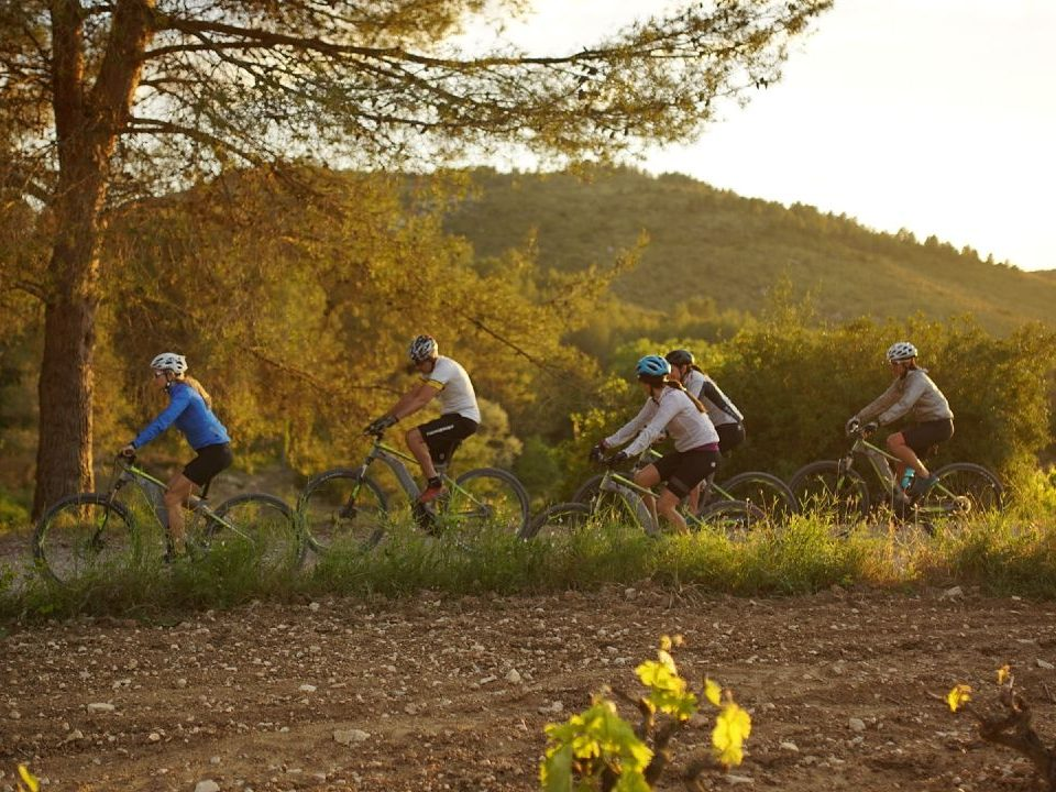 HFC offsite meeting mountain biking natural parks