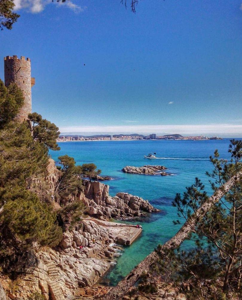 Costa Brava inspiring surroundings
