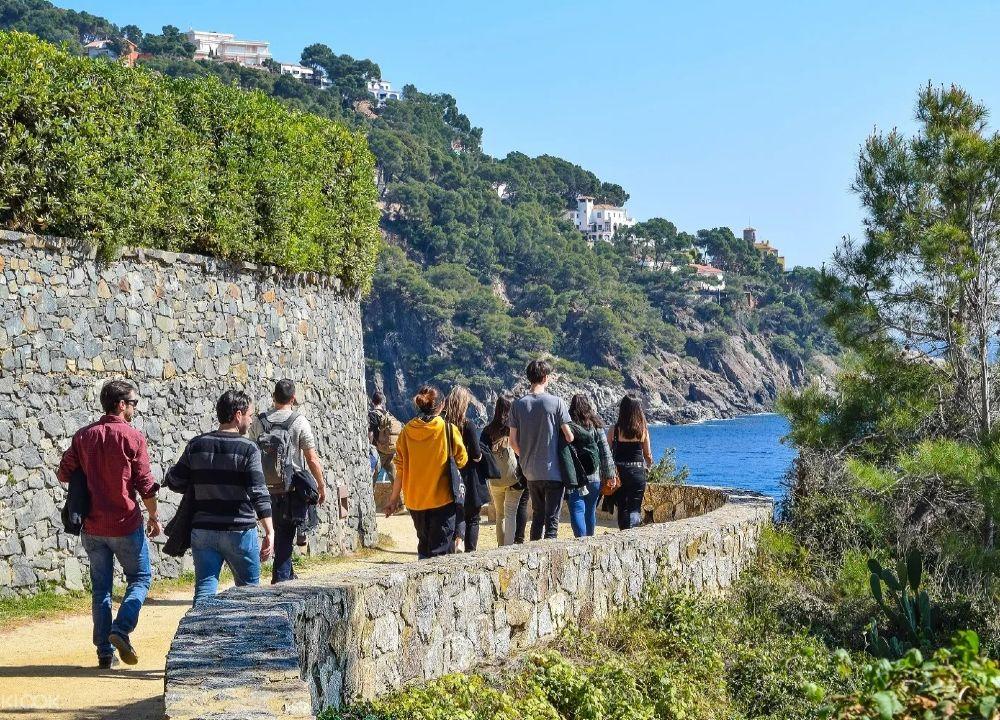 Outdoor meeting corporate group Costa Brava