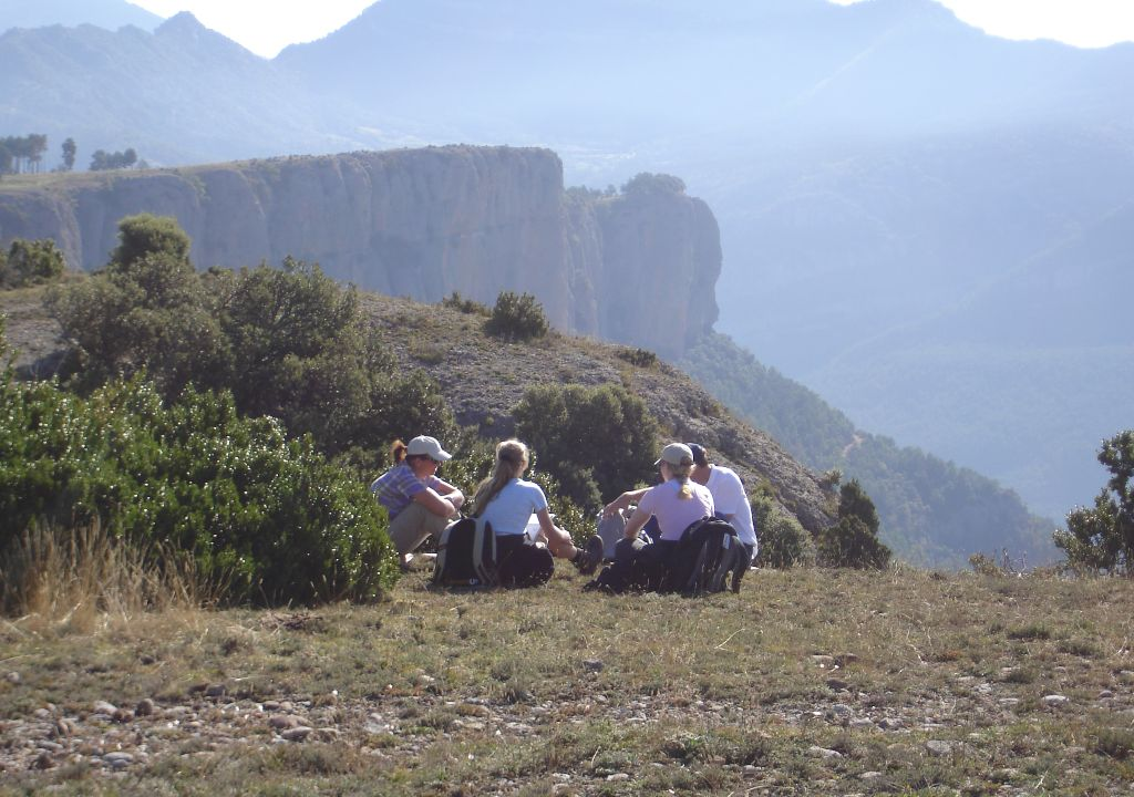 Outdoor meeting team building conference Montserrat