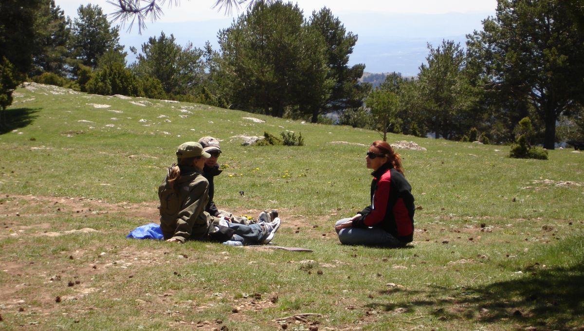 Outdoor Meeting conference La Mola Barcelona