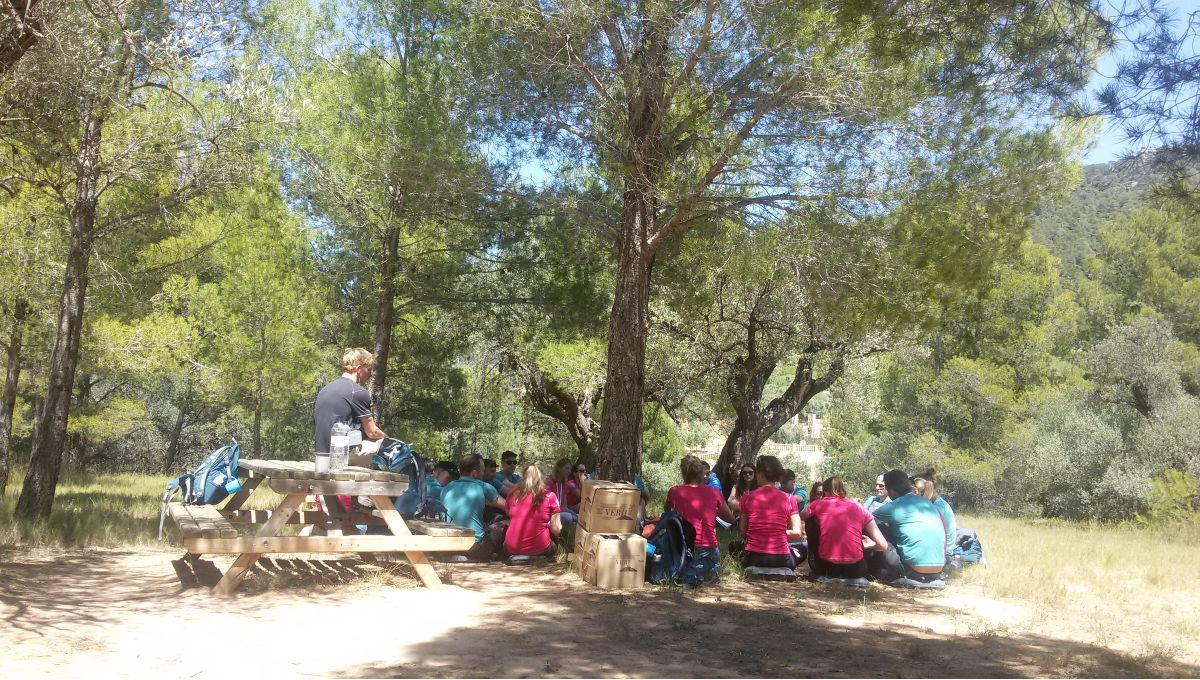 Outdoor meeting La Mola Nature event conference