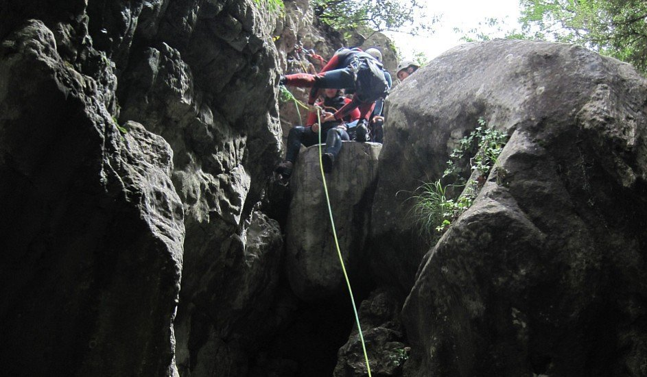 Canyoning Via Ferrata Outdoor conference event Pyrenees