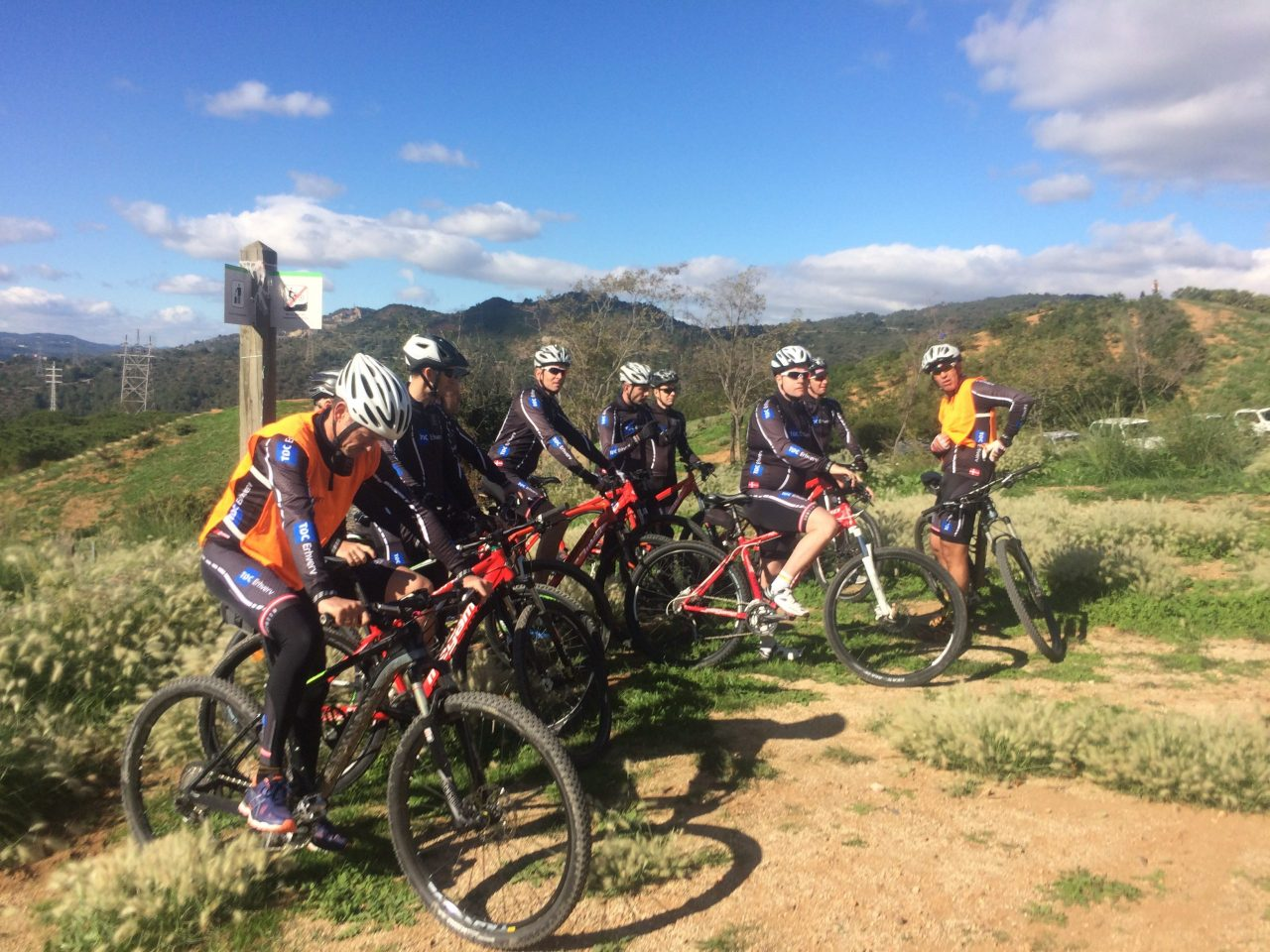 HFC eBike wine route penedes